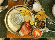Repas végétarien en Inde gratuit inclu dans le circuit