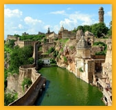 Benteng Chittorgarh, India tour