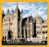 Bombay Victoria Terminus, busiest railway stations in India and serves Central Railway trains