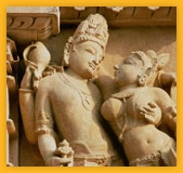 Khajuraho Travel India, sculptures et scènes religieuses en Inde Madhya Pradesh