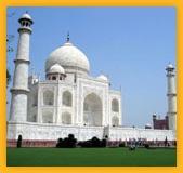 Mausolée Taj Mahal à Agra Uttar Pradesh, Unesco word Heritage