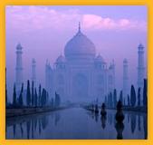 Taj Mahal Agra ville de Uttar Pradesh, circuit Inde du Nord