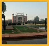 """Taj Mahal appelé """"Palais de la couronne"""", circuit Agra"""