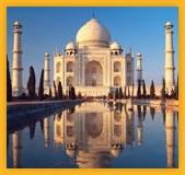 Le Taj Mahal reflet