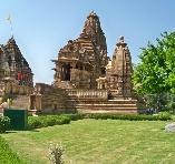 Khajuraho ville à Madhya Pradesh, circuit Inde du Nord